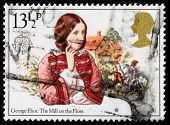 Britain George Eliot Postage Stamp