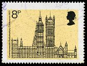 Britain Houses Of Parliament Postage Stamp