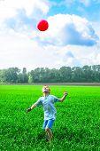Jogo de menino com bola