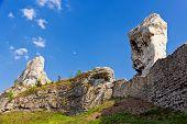 Rocky Landscape In Poland.