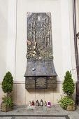 Monument Of Smolensk Air Disaster - Czestochowa Sanctuary, Poland.