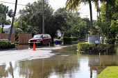 Flooded Streets, Victoria Park, Fort Lauderdale