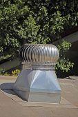 Air exhaust ventilation system