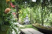 Hidden Tropical Spa Garden Philippines