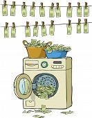 Постер, плакат: Отмывание денег