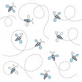 Bee patroon