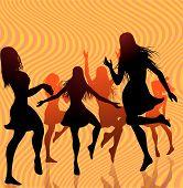 Women Retro Dancing