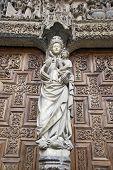 White Virgin Door