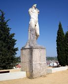 Statue of Adriano in the ruins of Italica in Seville, Spain