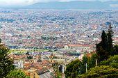 Vista de Bogotá, distrito histórico de Colombias