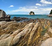 Kaiteriteri Rocks - Abel Tasman National Park, New Zealand