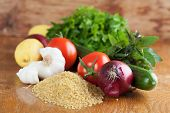 Tabbouleh Ingredients