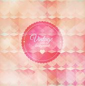 Vintage pink background