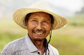 Portrait of smiling farmer
