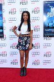 LOS ANGELES - NOV 9:  Daphne Blunt at the AFI FEST