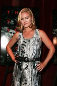 NEW YORK-AUG 19: Actress Julia Stiles attends the 'Closed Circuit' screening at the Tribeca Grand Ho