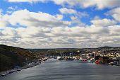 St. John?s Harbor And Town ? Newfoundland, Canada.