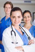 Médicos del hospital