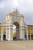 Rua Augusta Arch is a stone, triumphal arch-like, historical building and visitor attraction in Lisb