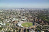 The Brit Oval Cricket Clubfrom Above