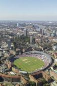Brit Oval Cricket Club From Above