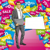 picture of chatterbox  - Sale concept - JPG