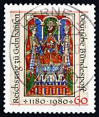 Postage Stamp Germany 1980 Emperor Frederick I Barbarossa