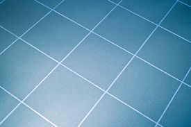 foto of ceramic tile  - Ceramic tile floor blue color - JPG