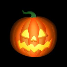 picture of jack-o-laterns-jack-o-latern  - spooky jack - JPG