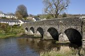 picture of west village  - Withypool Bridge over the River Barle Exmoor