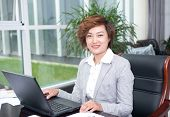 Asian Female Businessman