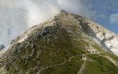 Mount Watzmann (peak Hocheck) in the german Alps