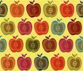 Fruit Apple Pattern