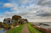 Marken A Small Village Near Amsterdam