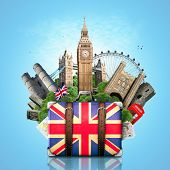 England, British landmarks, travel