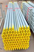 image of scaffold  - stack of scaffold for construction - JPG