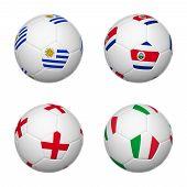Soccer Balls Of Brazil 2014, Group D