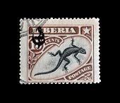 Liberia stamp 1906