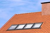 Tiled Roof And Windows