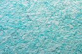 Turquoise Paper Background. Macro