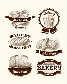 Pastry and bread signs
