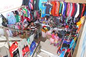 clothes shop in Bajawa Indonesia