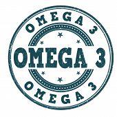 Omega Three Stamp