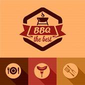bbq design elements