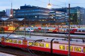 zentralen Bahnhof in Helsinki, Finnland