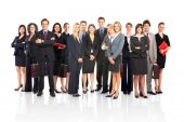 stock photo of people work  - Group of business people - JPG