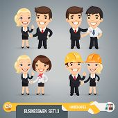 Businessmans Cartoon Characters Set1.3