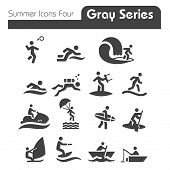 Summer Icons Two gray series Four