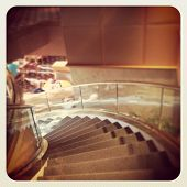 Stair Case with instagram effect