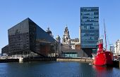 View From Albert Dock In Liverpool